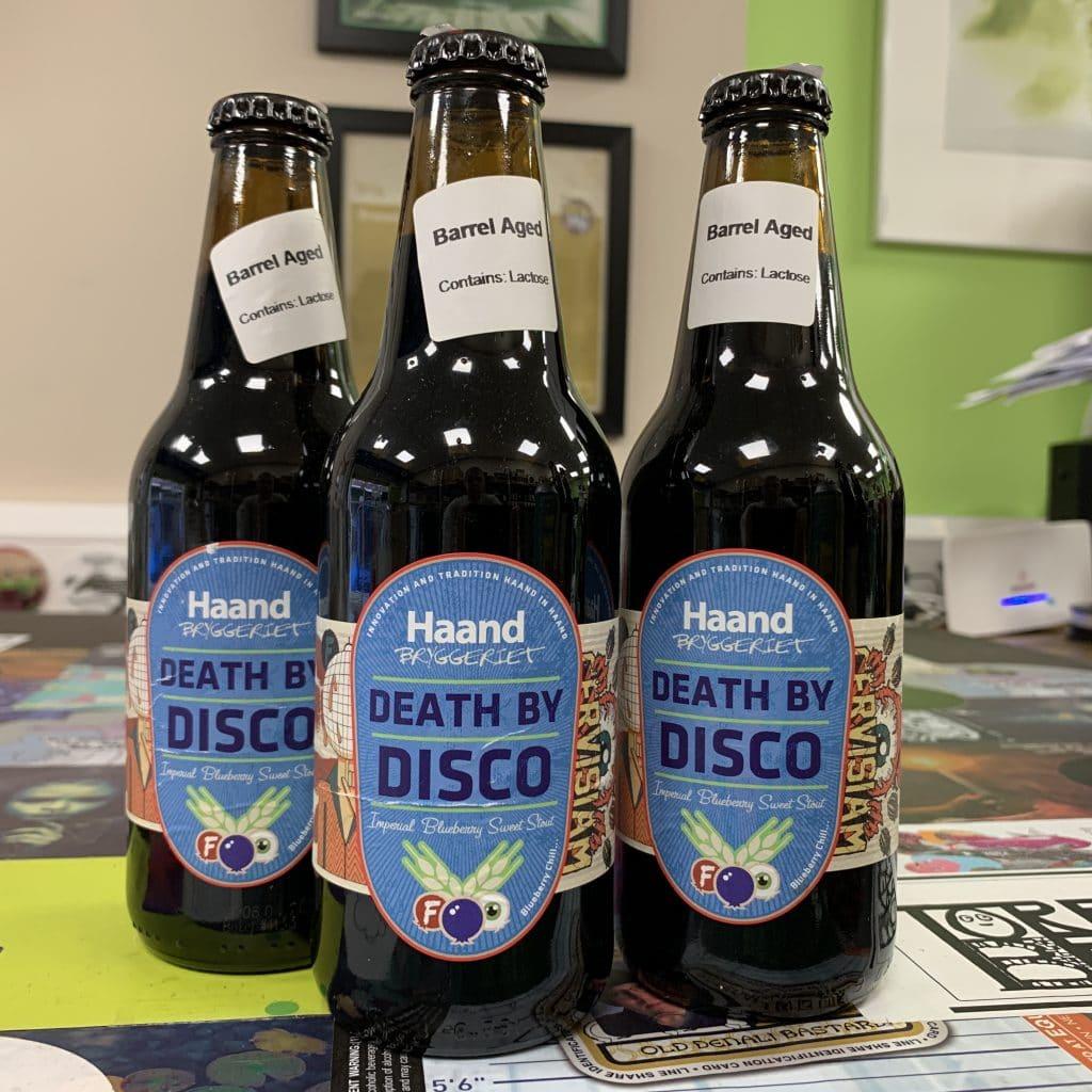 Death By Disco Bourbon Barrel Aged - Imperial Blueberry Milk Stout