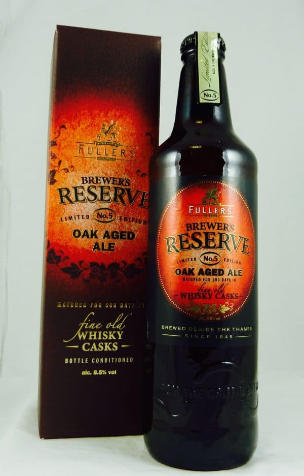 Fuller's Brewers Reserve No5 Whisky Cask