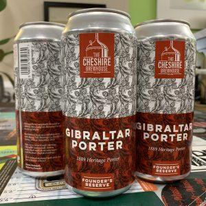 Gibraltar Porter - Cheshire Brewhouse