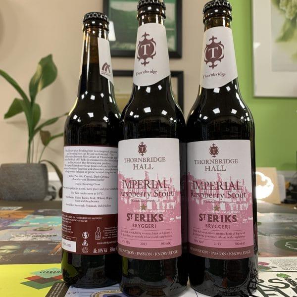 Imperial Raspberry Stout -Thornbridge - St Eriks