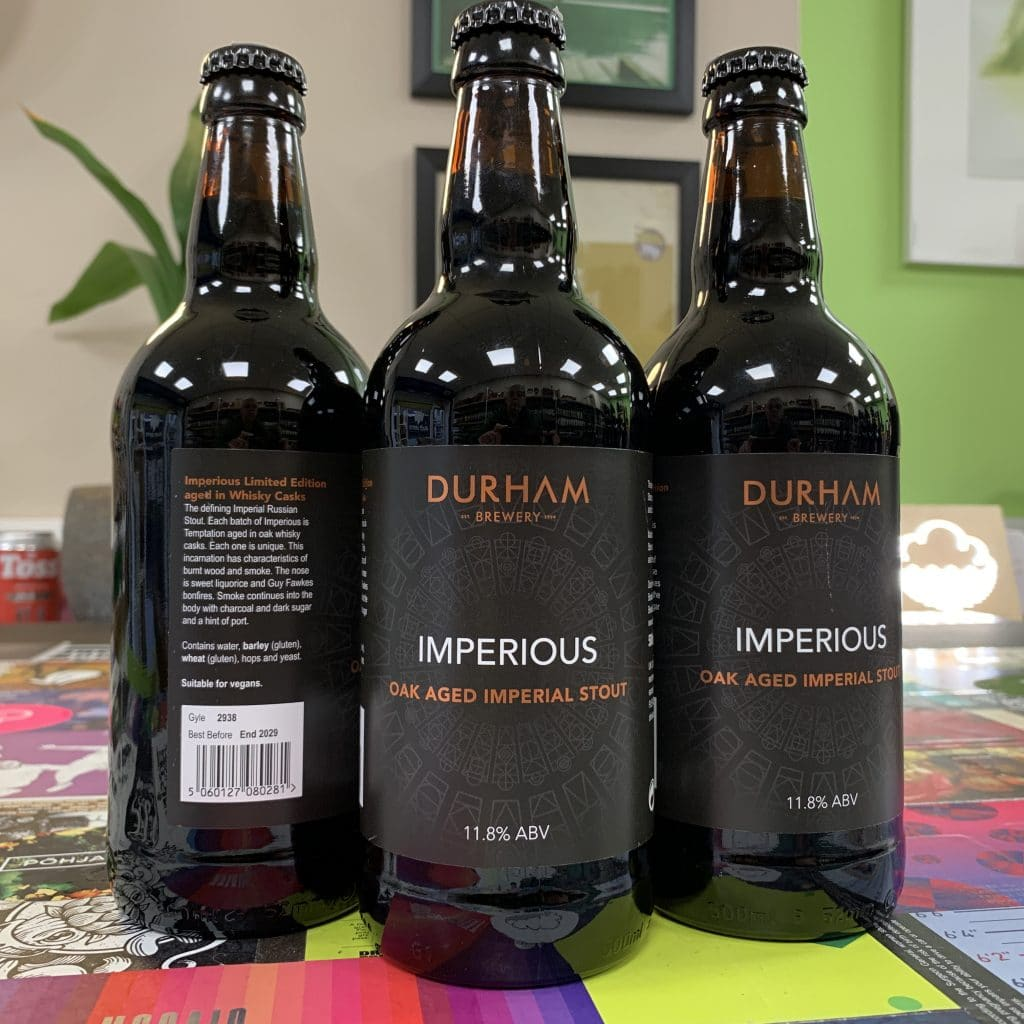Imperious Imperial Stout - Durham Brewery