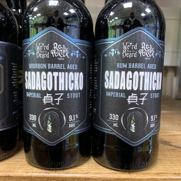 Sadagothico Rum Barrel Aged - Weird Beard / Pig And Porter
