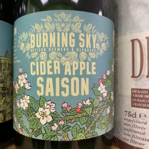 Cider Apple Saison - Burning Sky