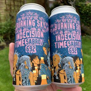 Indecision Time - Burning Sky