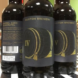 Buxton Barrel Aged Quadrupel
