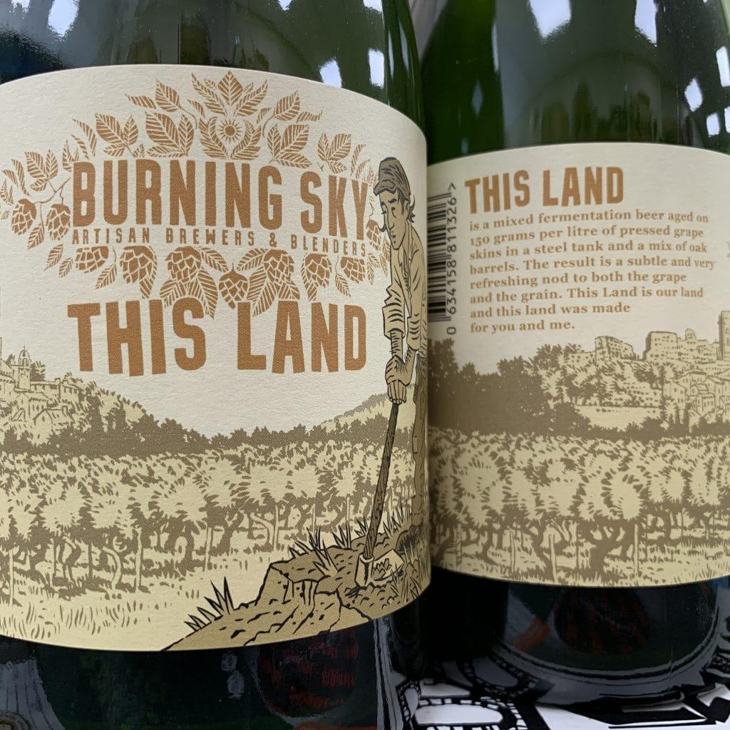 This Land - Burning Sky