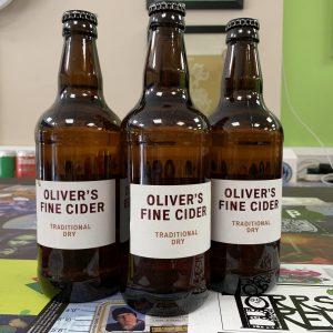 Traditional Dry Cider Oliver's Cider