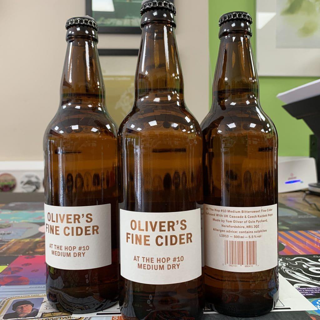 At The Hop Oliver's Cider