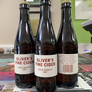 Gold Rush Oliver's Cider