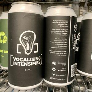Vocalising Intensifies - Pomona Island