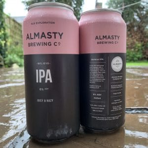 Believe IPA - Almasty Brewing