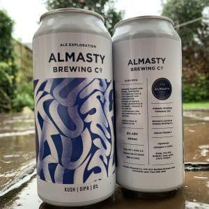 Kush Double IPA - Almasty Brewing
