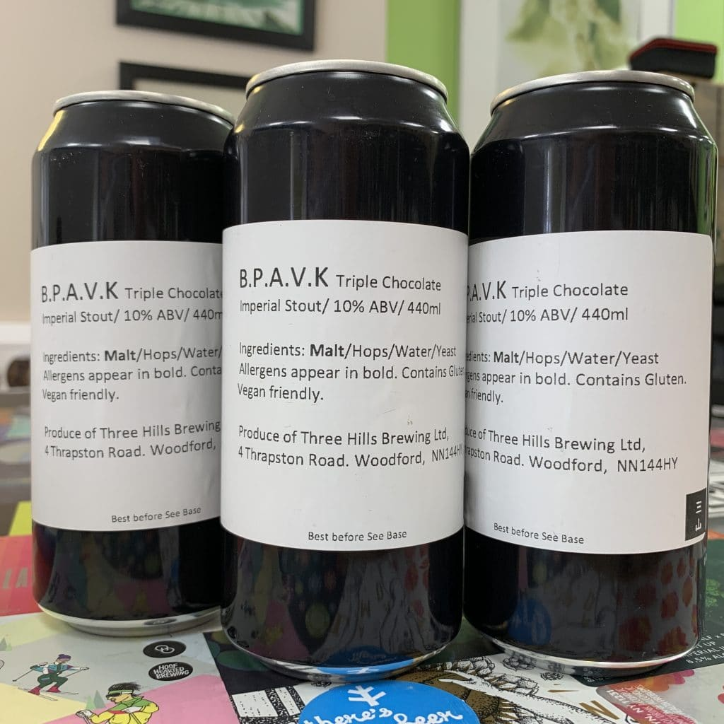 B.P.A.V.K - Three Hills Brewing - Triple Chocolate Imperial Stout