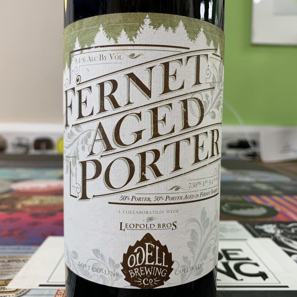 Fernet Aged Porter - Odell Brewing Co