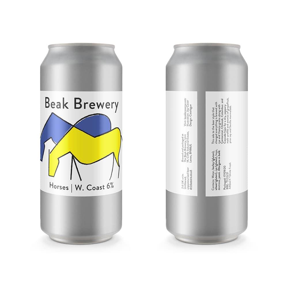Horses West Coast Rye IPA - Beak Brewing