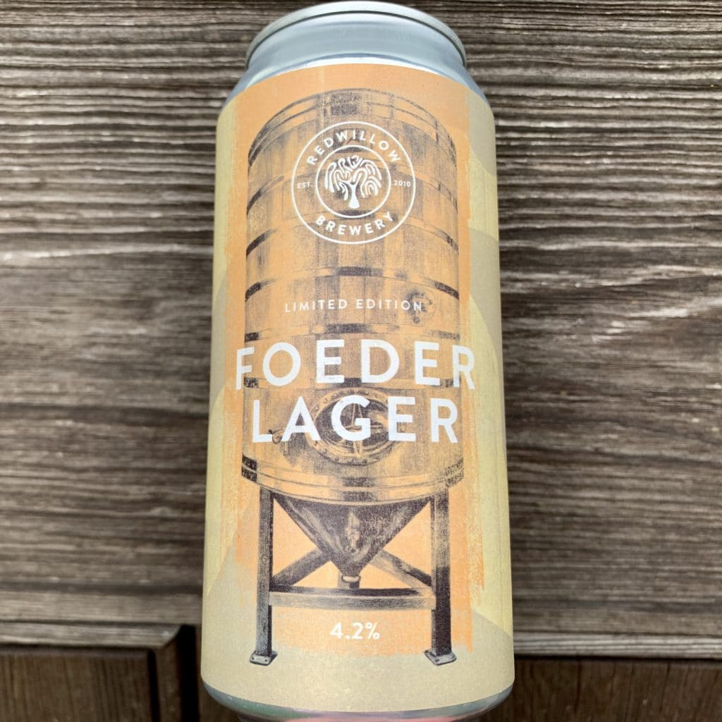 Foeder Lager - Redwillow Brewery