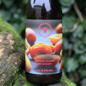 Bretted Pilsner on Apricot - Marble