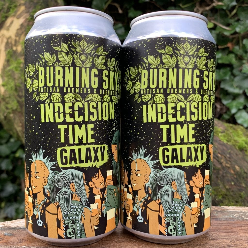 Indecision Time Galaxy - Burning Sky