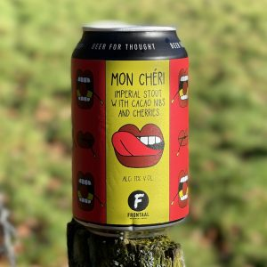 Mon Chéri Imperial Stout - Frontaal