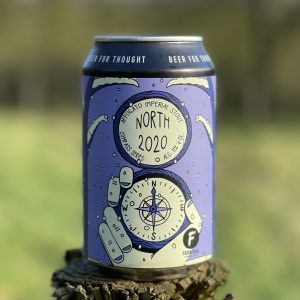 North 2020 Affogato Imperial Stout - Frontaal