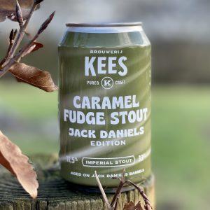 Kees Caramel Fudge Stout Jack Daniels BA