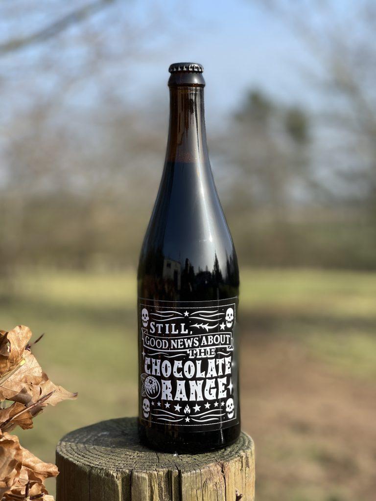 Still Good News About The Chocolate Orange - Black Iris