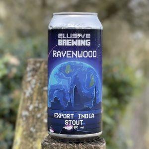 Ravenwood Export India Stout - Elusive Brewing
