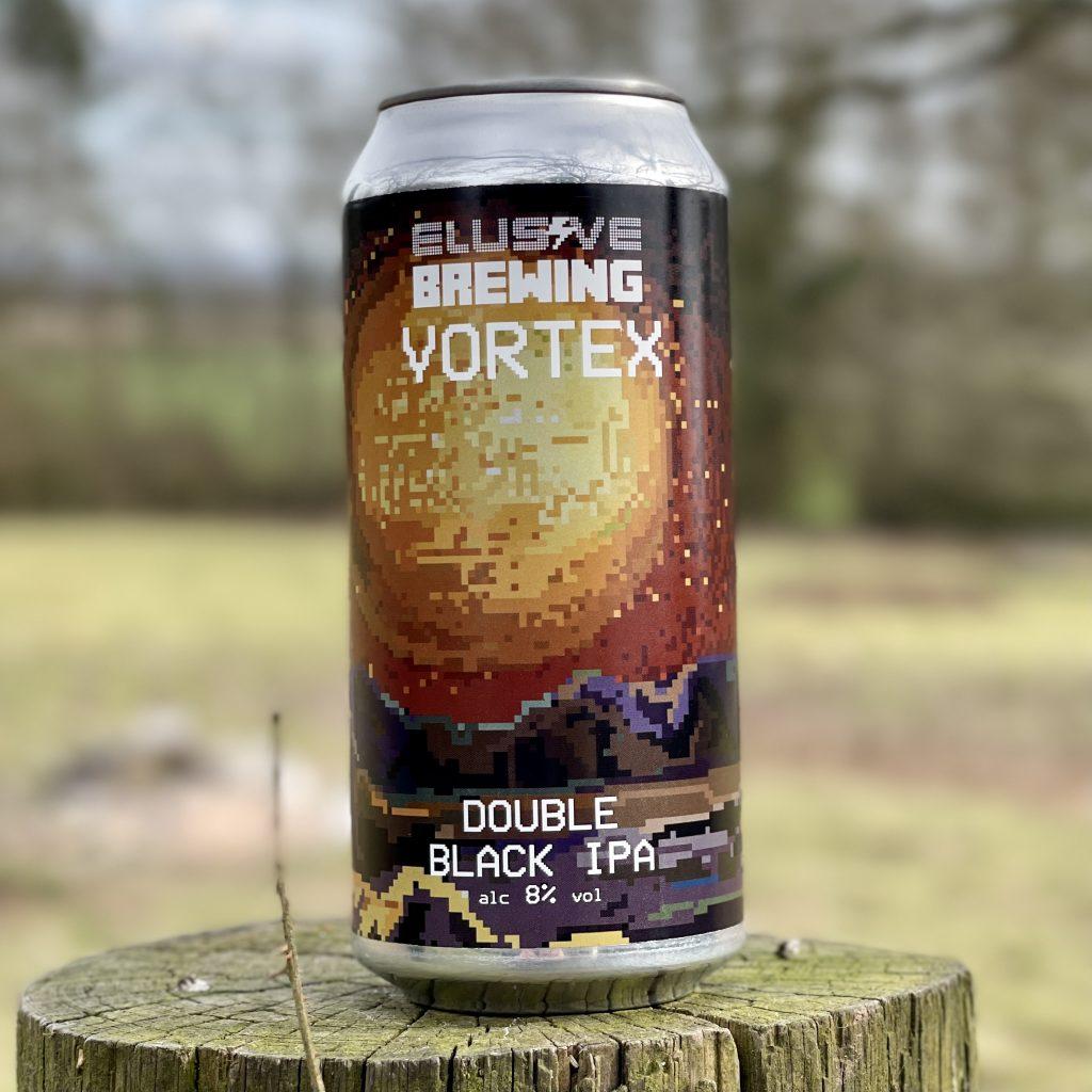 Vortex Double Black IPA - Elusive Brewing