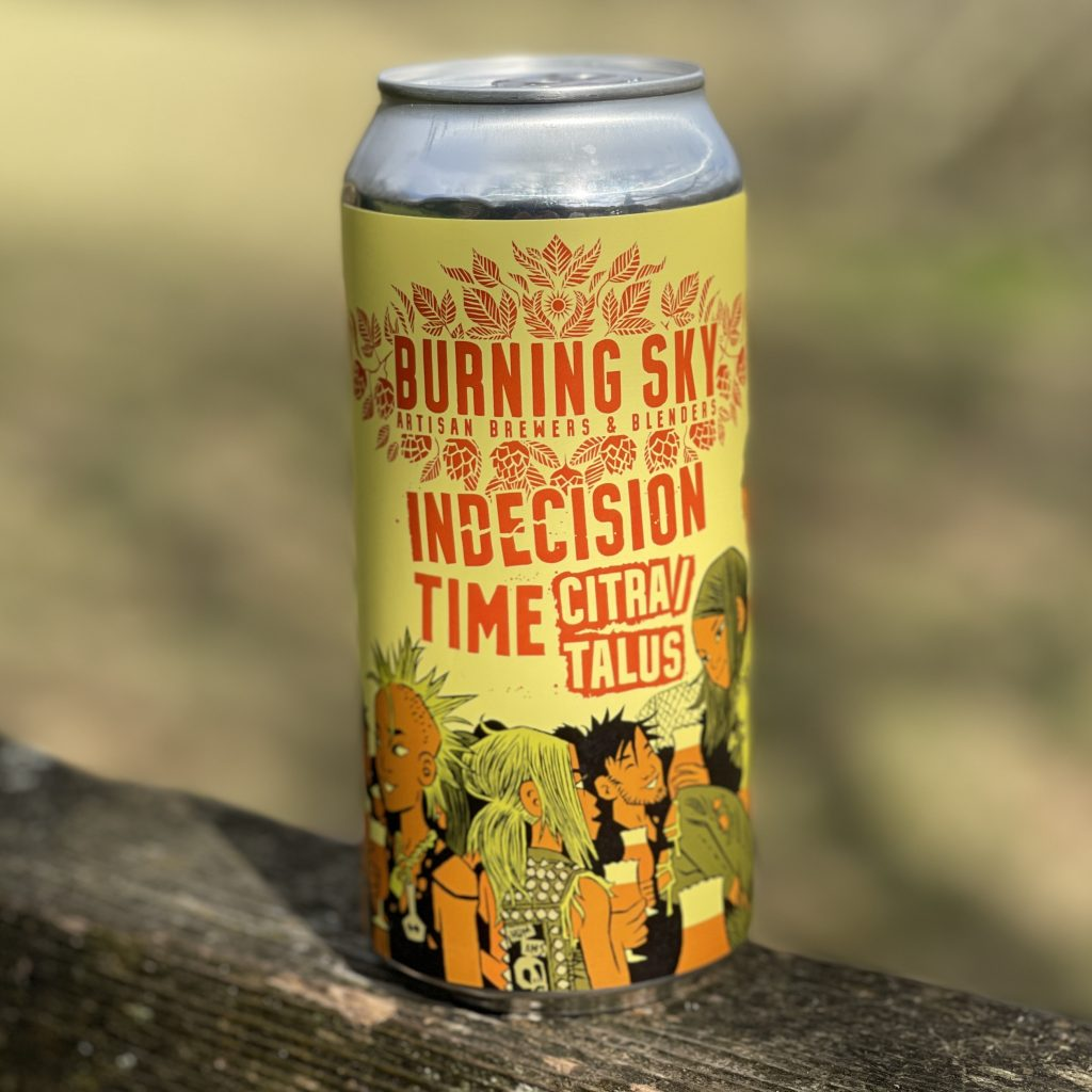 Indecision Time Citra Talus - Burning Sky