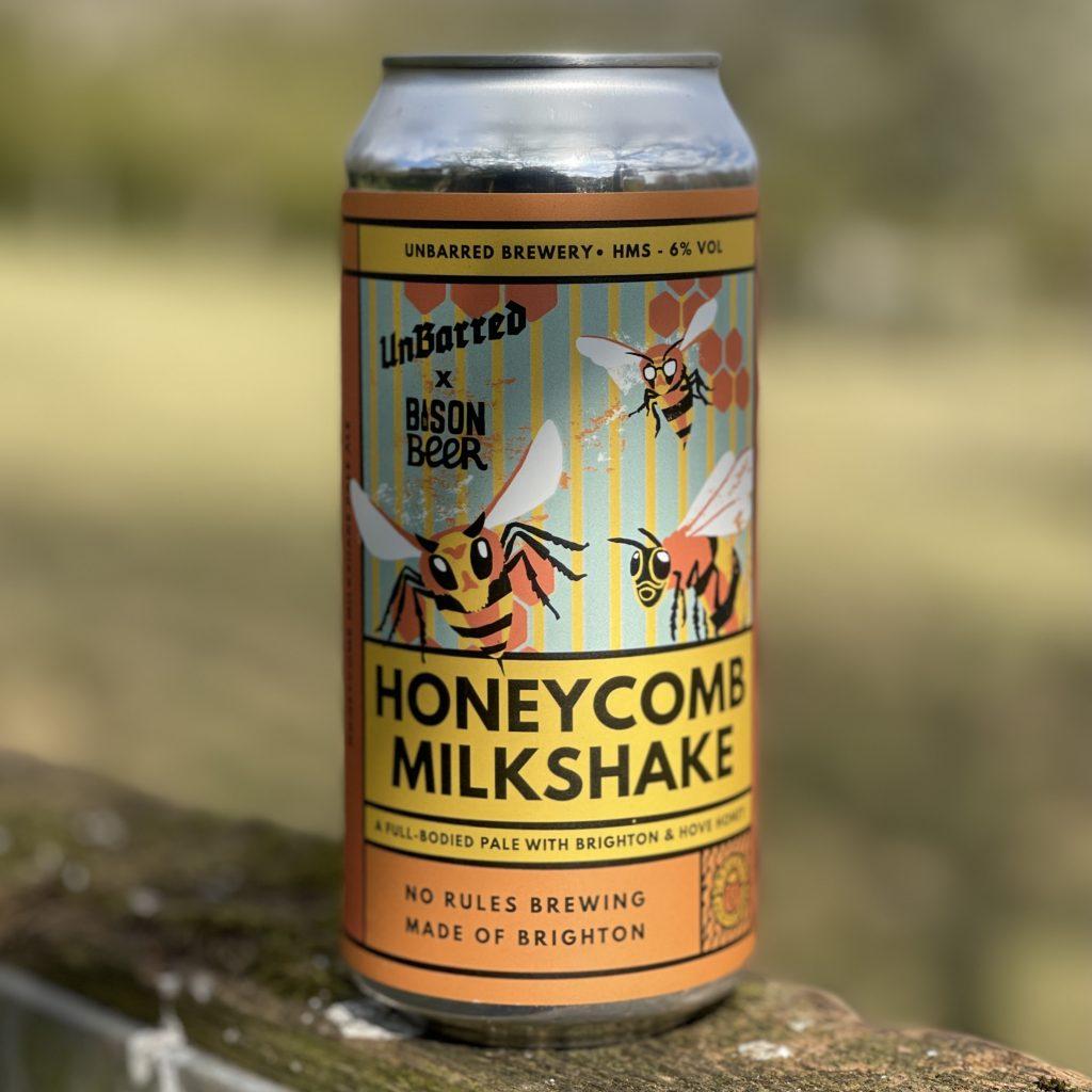 Honeycomb Milkshake - UnBarred Brewery