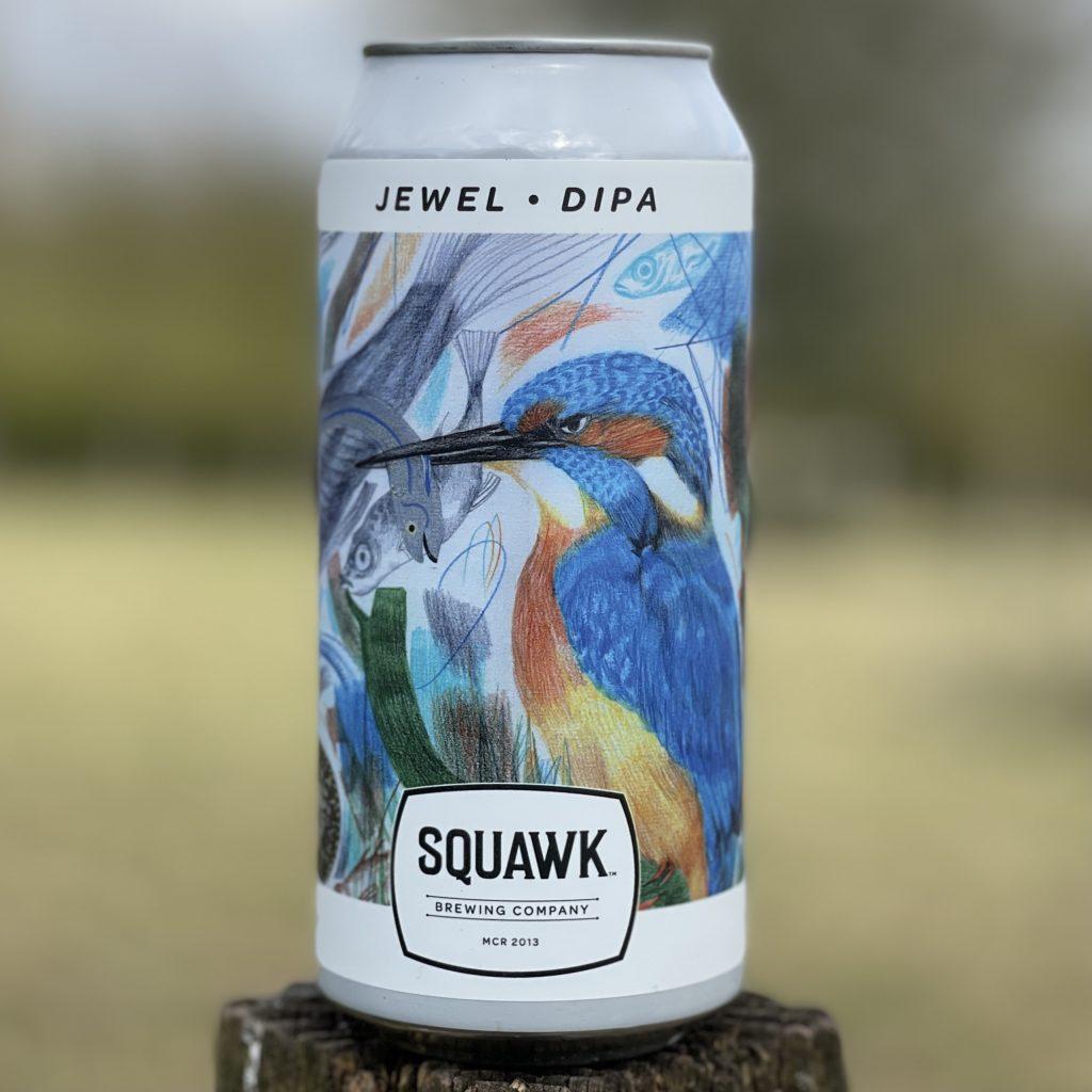 Jewel DIPA - Squawk Brewing Co