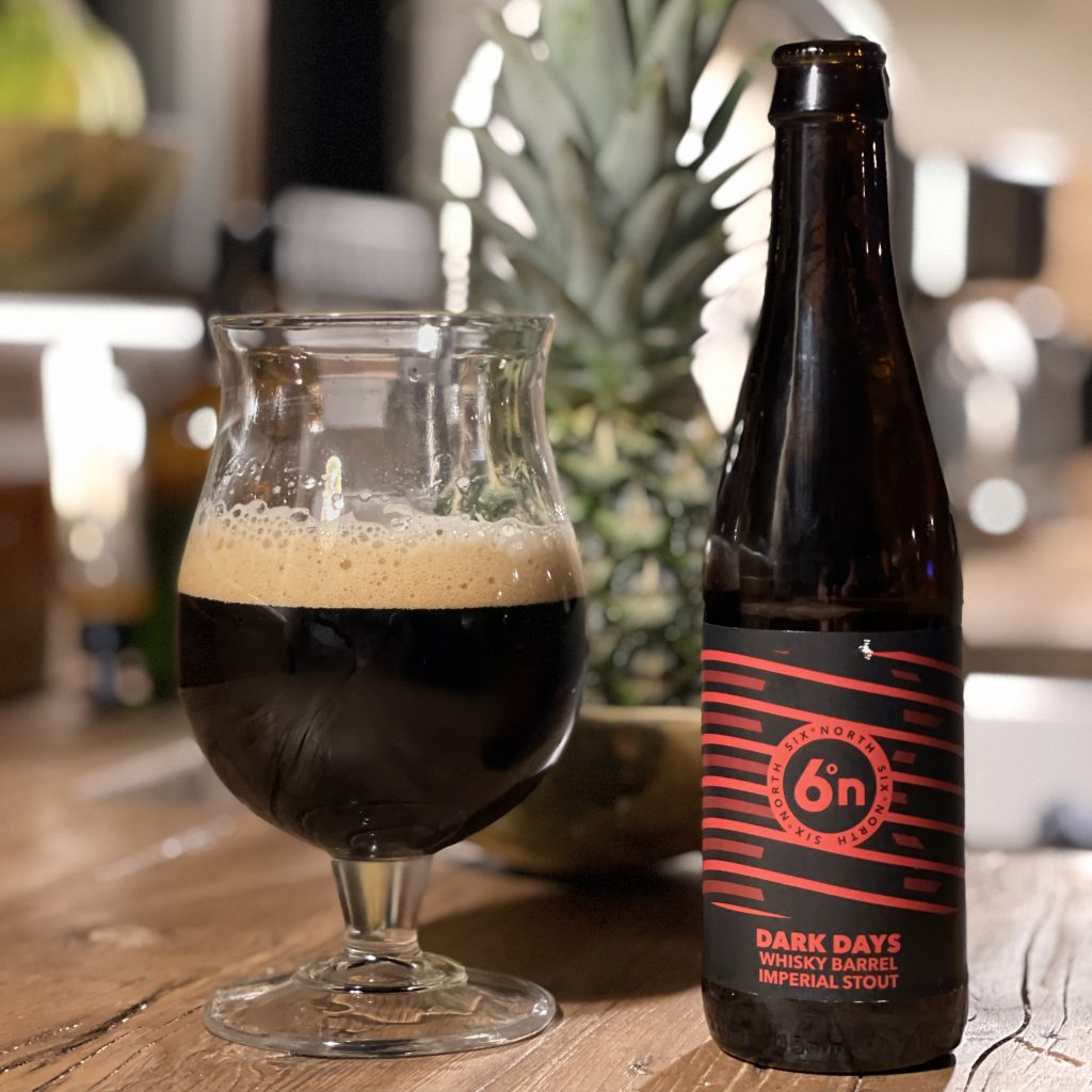 Dark Days Whisky Imperial Stout - Six Degrees North