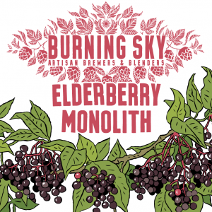 Elderberry Monolith - Burning Sky