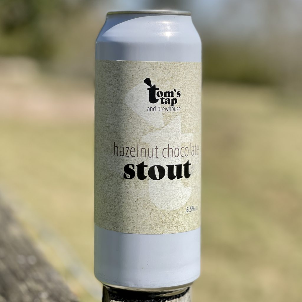 Hazelnut Chocolate Stout - Tom's Tap and Brewhouse