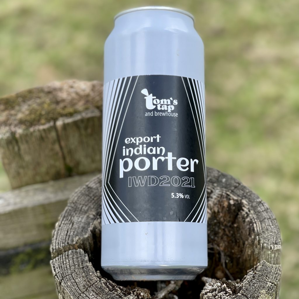 Export Indian Porter - Tom's Tap and Brewhouse