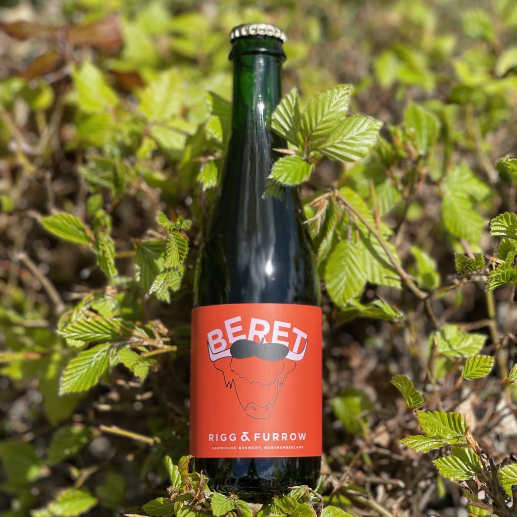 Beret - BA Farmhouse Ale with Raspberries - Rigg and Furrow