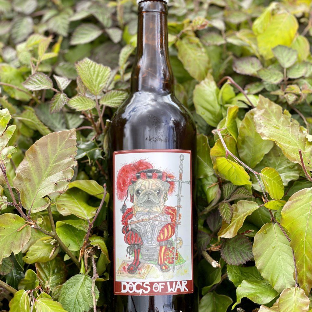 Dogs Of War 2021.1 Battle Pug - Moscatel Barrel Chinook Barley Wine - Torrside