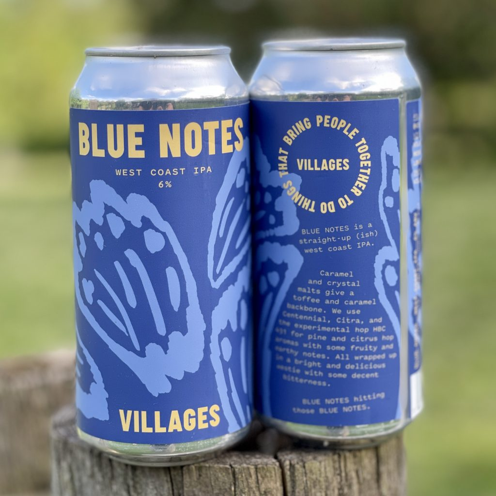 Blue Notes West Coast IPA - Villages Brewing