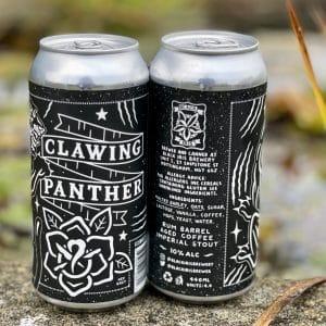 Clawing Panther - Black Iris