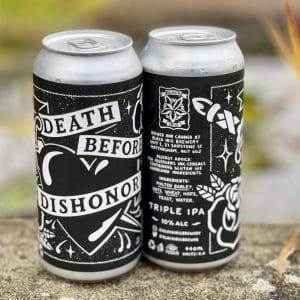 Death Before Dishonor - Black Iris